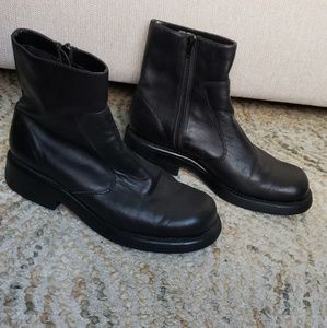Mossimo Chunky Leather Combat Boot